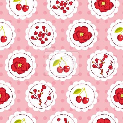 Grannys ogród Cherry Różowy