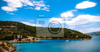 Green paradise island