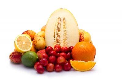 Grupa świeżych owoców letnich