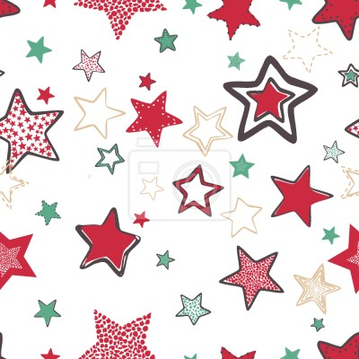 Tapeta Hand Drawn Stars