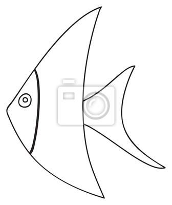 Tapeta Happy holiday - April tropical fish