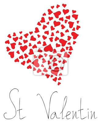 Happy holiday - Hearts of St Valentin