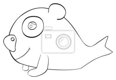 Tapeta Happy holiday - Koala ryby kwietnia