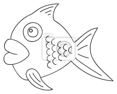 Tapeta Happy holiday - kwiecień ładne ryby
