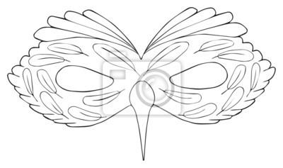 Happy holiday - Maska Ptak z cirrus