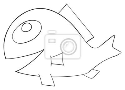 Tapeta Happy holiday - ryby kwietnia z grzebienia