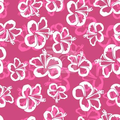 Hawajskie kwiaty hibiskusa