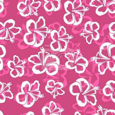 Tapeta Hawajskie kwiaty hibiskusa
