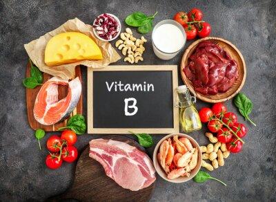 Tapeta High vitamin B sources assortment