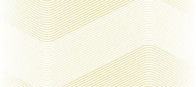Tapeta Ilustracja wektorowa złoty wzór linii abstrakcyjne tło. EPS10.