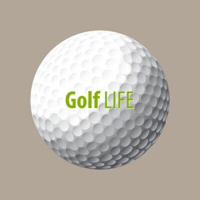 Tapeta Ilustracji wektorowych golfa