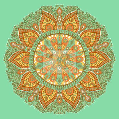 Tapeta Jesień Mandala