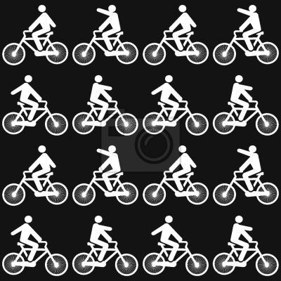 Tapeta Jeździć na rowerze