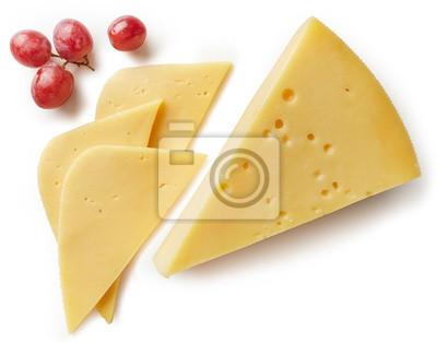 Kawałek sera i plastry