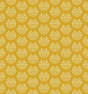 Tapeta kłosy pszenicy szwu