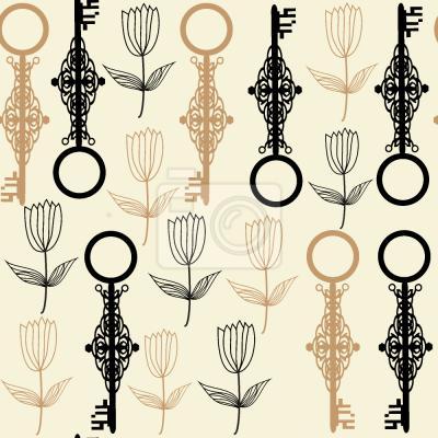Tapeta Kluczowe Kwiaty
