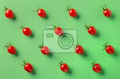 Tapeta Kolorowy wzór pomidorów