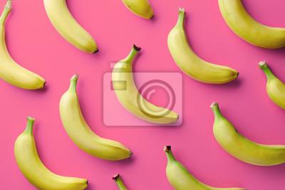 Kolorowy wzór z bananów