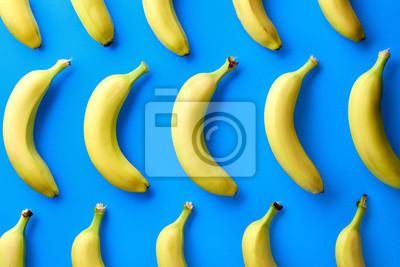 Tapeta Kolorowy wzór z bananów