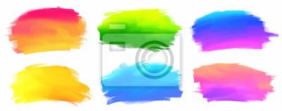 Tapeta Kolory żywe spektrum wektor farby akrylowe plamy