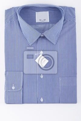 Tapeta Koszulka w paski niebieski obiekt