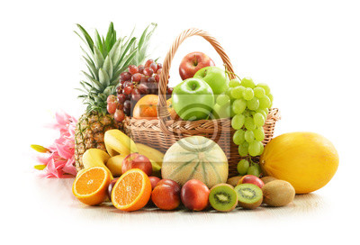 Tapeta koszyk na owoce