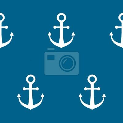 Tapeta kotwica Ahoy