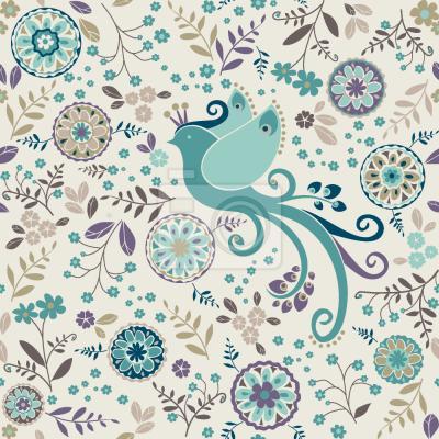 Tapeta Królowa Ptaków W JEJ zimowej Sukience