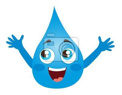 Tapeta kropla wody