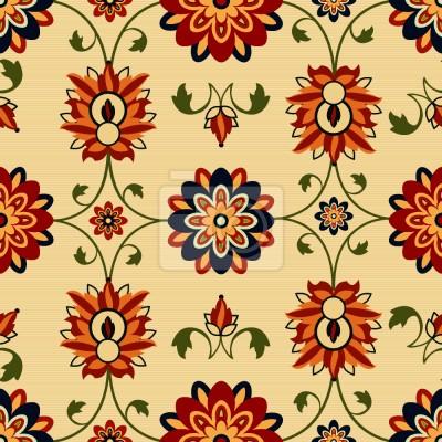 Tapeta Kwiat Damaszek Ściany