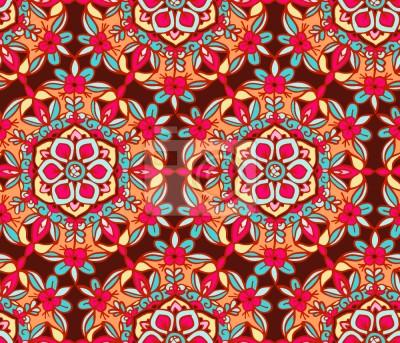Tapeta Kwiatowe Kwiaty Mandala