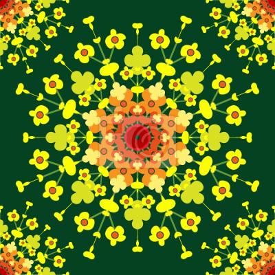 Tapeta Kwiatowe Wybuchanie