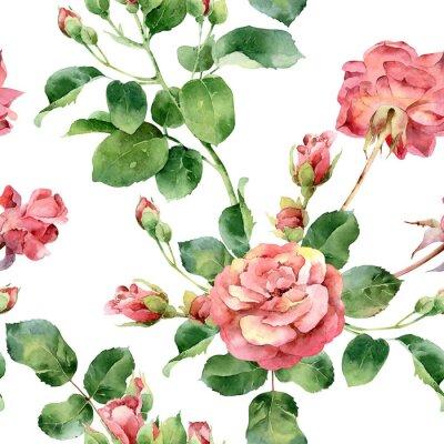 Tapeta Kwiatowy wzór z róż