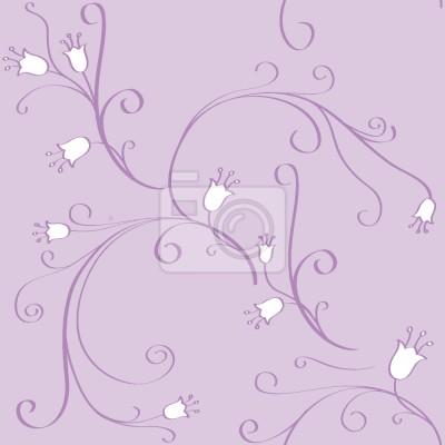 Tapeta Kwiaty Bell W Flux