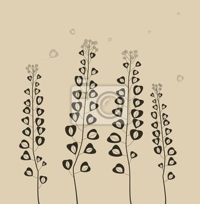 Kwiaty dziedzinie.