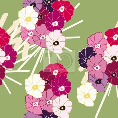 Tapeta Kwiaty Z Japonii