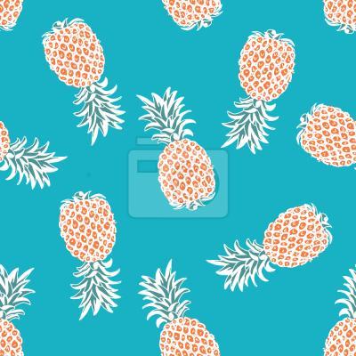 Tapeta latanie Ananasy