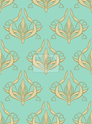 Tapeta Lily Aquamarine