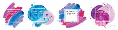 Tapeta Logo art brush paint vector.