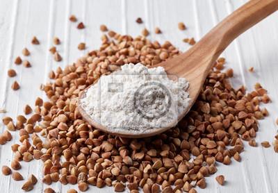 Łyżka mąki gryczanej