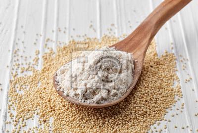Łyżka mąki nasion amarantusa