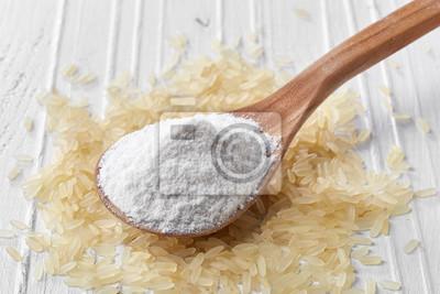 Łyżka mąki ryżowej