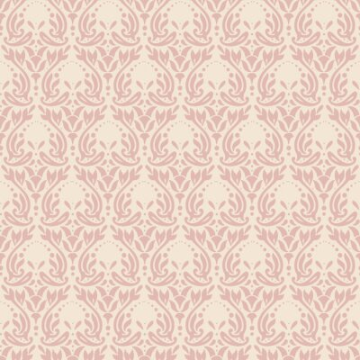 Tapeta Maison de fleurs. Barokowy wzór # 6