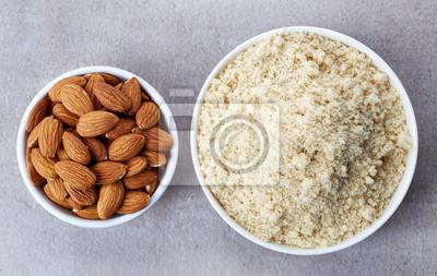 mąka migdałów i migdałów