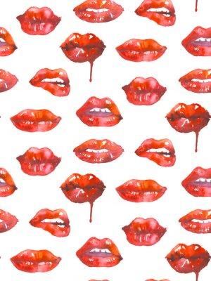 Tapeta Makijaż usta.