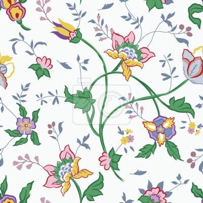 Tapeta Mały Biały Kwiat Fantasy