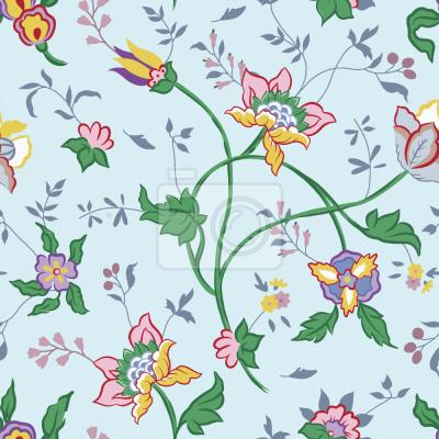 Tapeta Mały Niebieski Kwiat Fantasy
