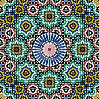 Tapeta Maroka płytka
