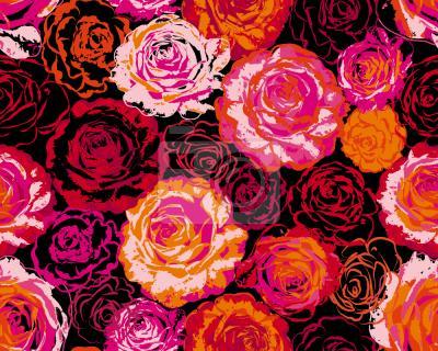 Tapeta Marze o różach