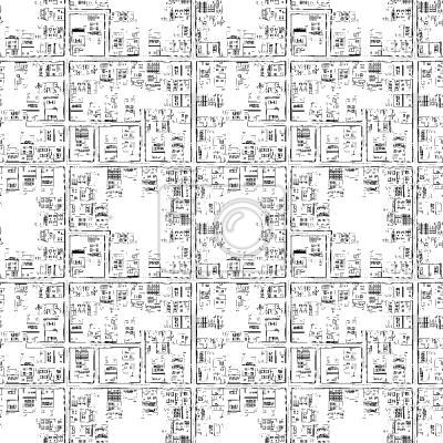 Tapeta Miasta na mapie